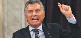 La infinita hipocresía de Mauricio Macri